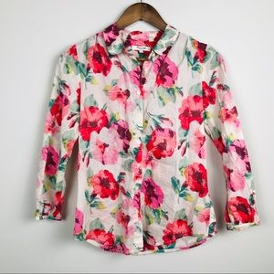 Madewell Floral Button-down Shirt